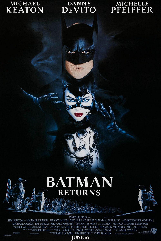 Filme die an Weihnachten spielen Poster BAtmans rückkehr