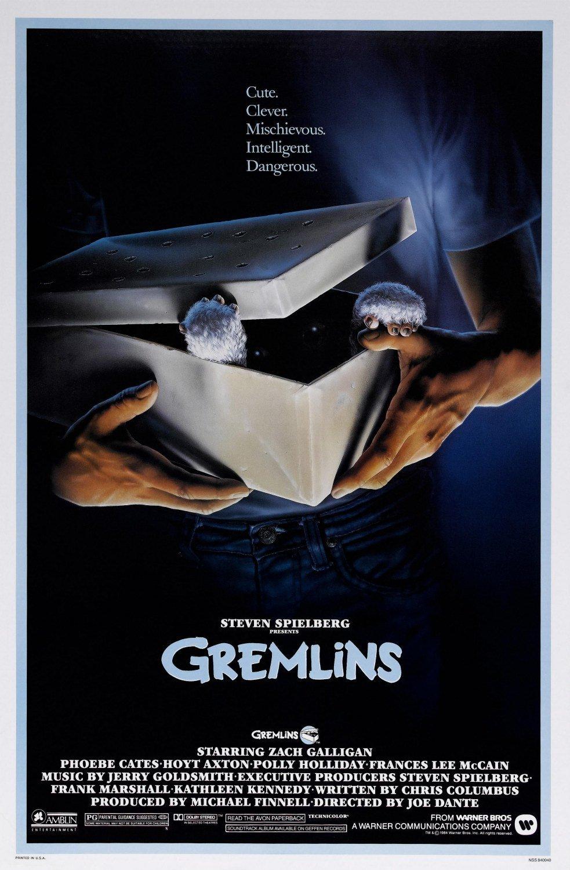 Filme die an Weihnachten spielen Poster Gremlins