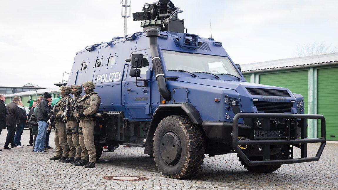 Polizeio Sachsen Survivor R