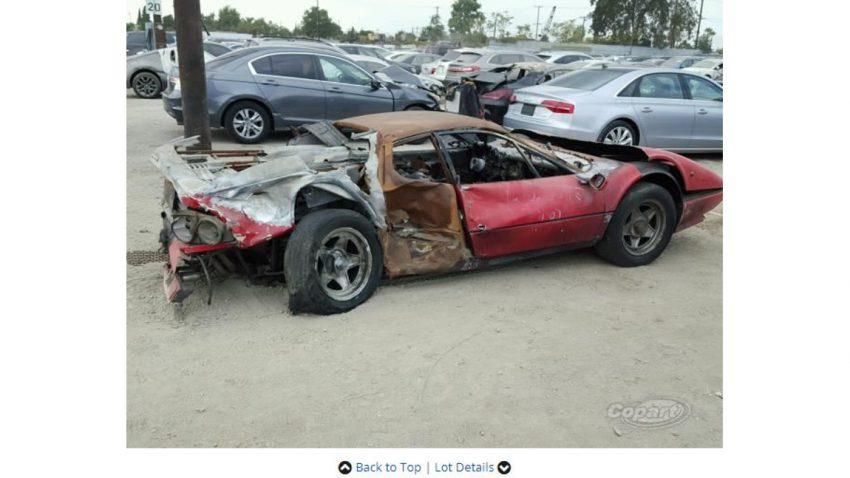 40.000 Dollar für diesen Ferrari 512?