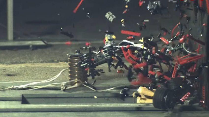 200 km/h-Crashtest für Spielzeugautos