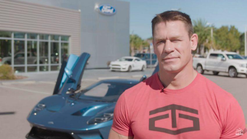 Warum Wrestler John Cena jetzt von Ford verklagt wird