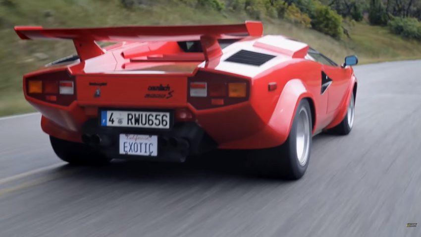 So gut klingt der Lamborghini Countach