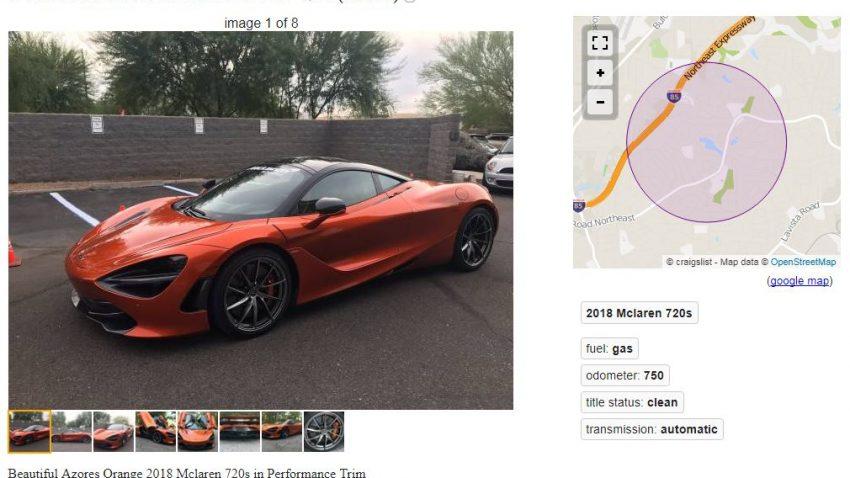 Dieser McLaren 720S kostet 20 ... Bitcoins