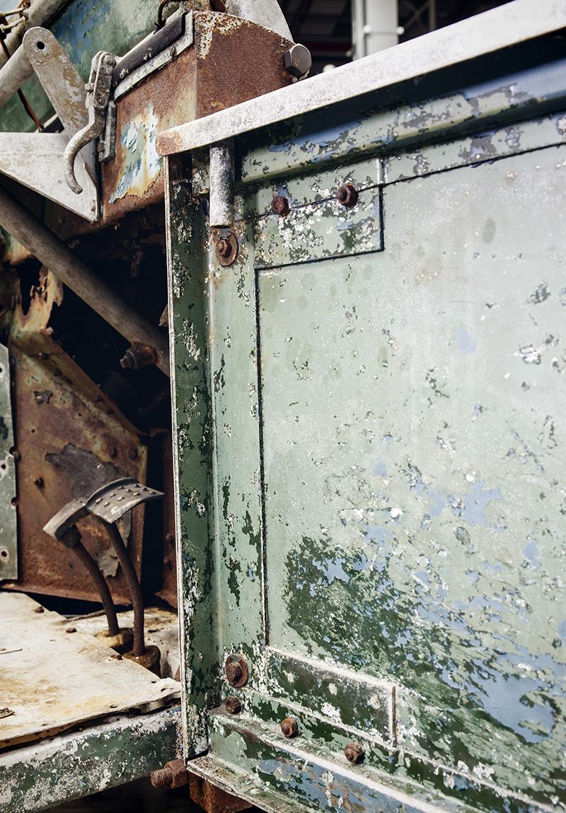 aller erster Land Rover Restaurierung Scheunenfund