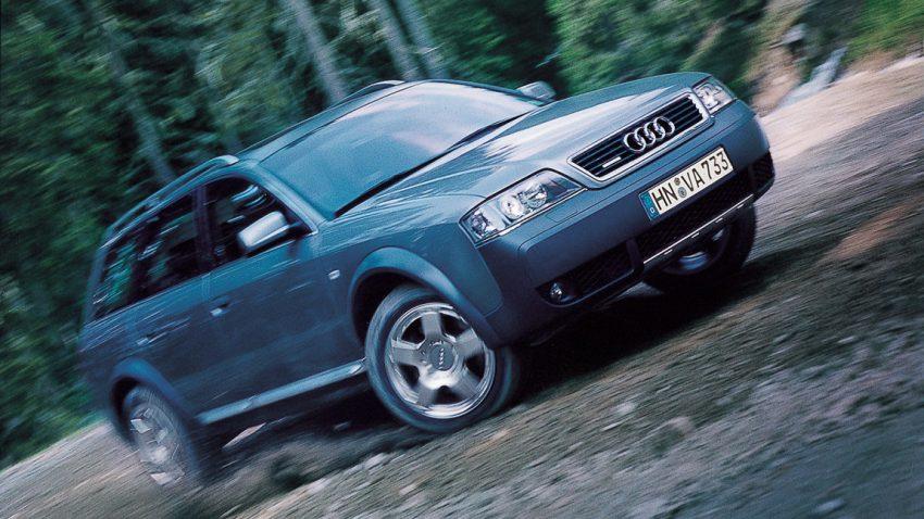 Audi allroad quattro: Munter rauf und runter