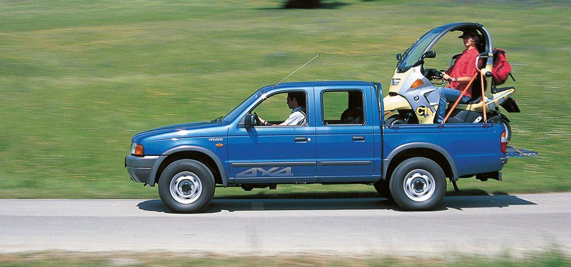 Ford Ranger 2,5 TD 4x4: Nach der Arbeit