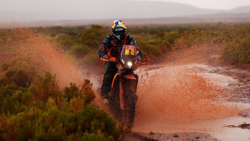 Dakar: Matthias Walkner gewinnt als erster Österreicher die Motorradwertung