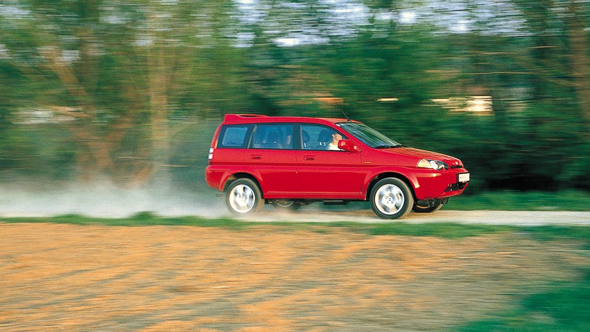Honda HR-V 1,6i VTEC 4WD: Heiter bis wolkig