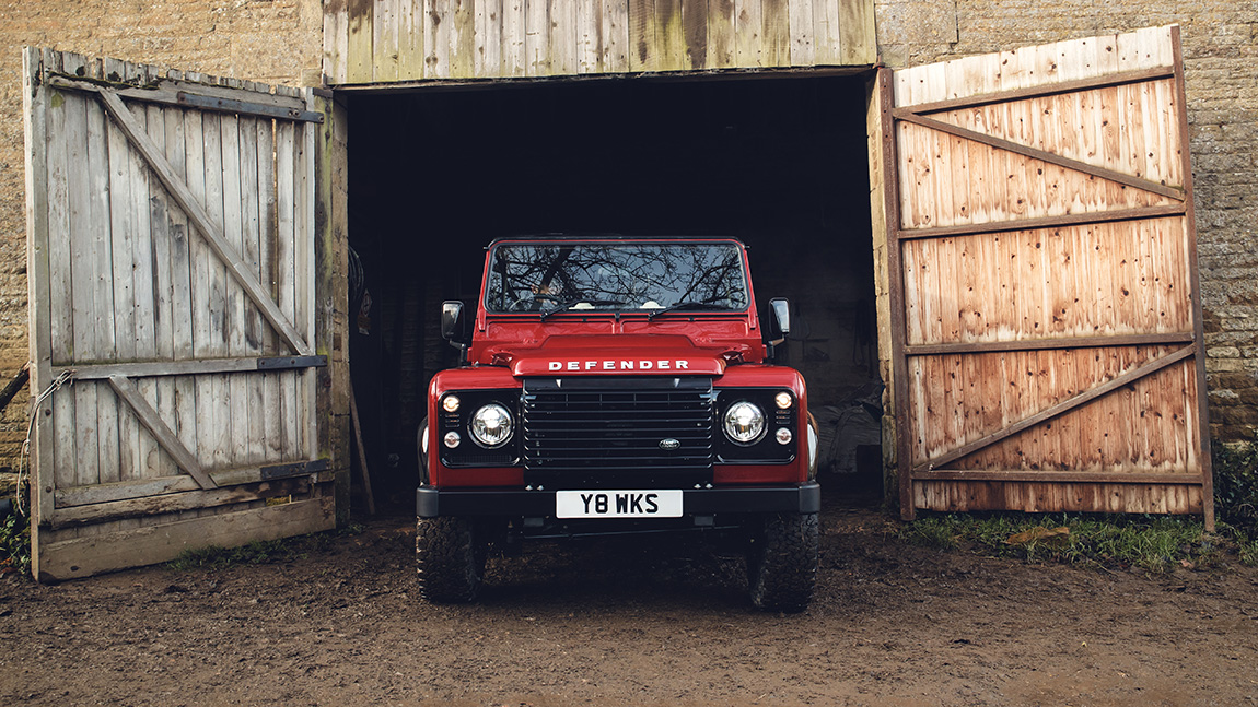 Land Rover Defender Works V8 Saugmotor 405 PS Classics