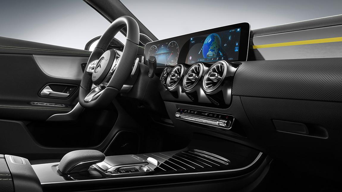 Weltpremiere Mercedes A-Klasse