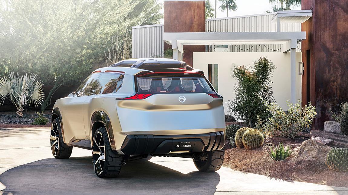 Nissan-Studie Xmotion feiert Premiere