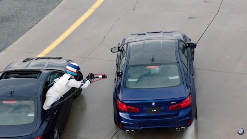 Weltrekord im BMW M5: 8-stündiger Drift samt Tank-Stunt