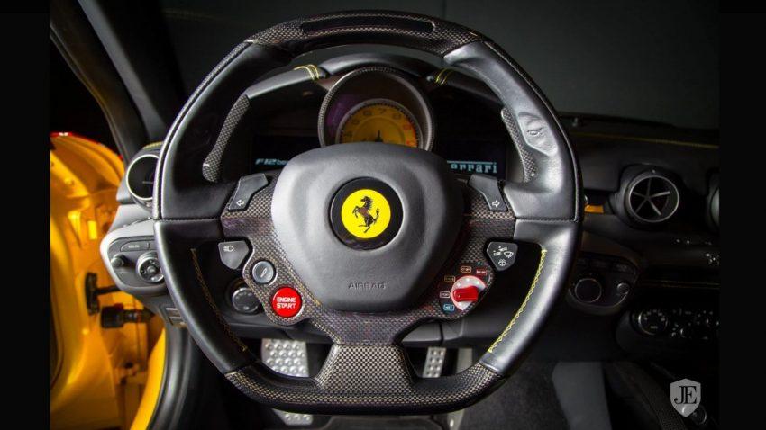 Der Ferrari F12berlinetta mit Louis Vuitton-Folierung wird schon wieder verkauft