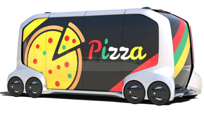 Selbstfahrende Pizza?