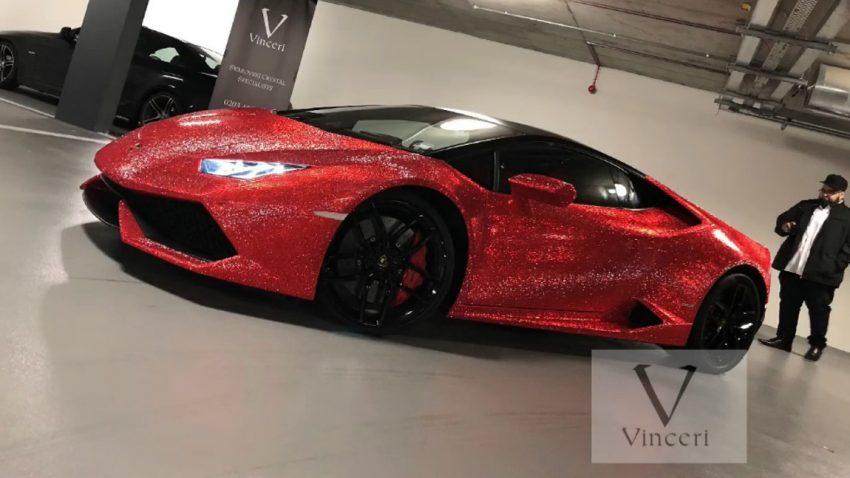 Dieser Lamborghini Huracán trägt 1,3 Millionen Swarovski-Kristalle