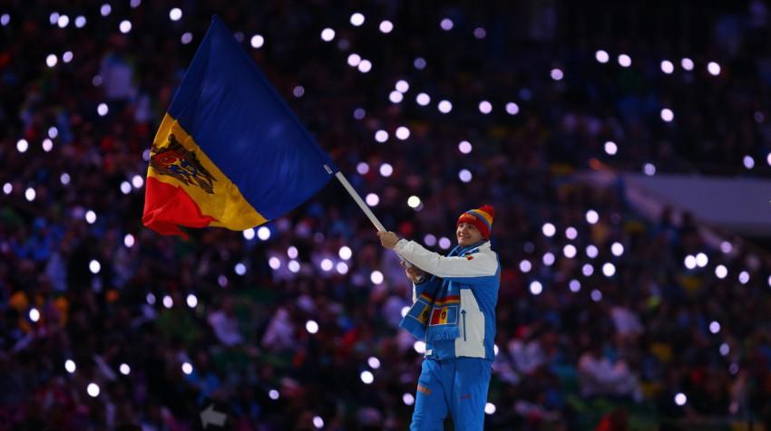 moldawien flagge