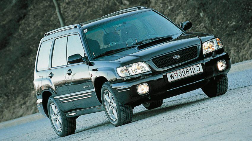 Subaru Forester 2,0 S-Turbo 4WD: Recht im Winkel