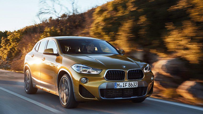 BMW X2: Höherstellen mal Tieferlegen