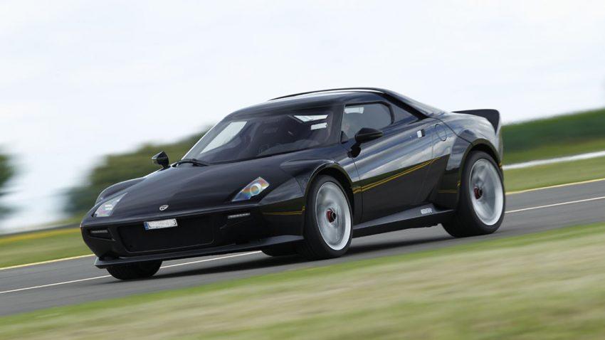 Der neue Lancia Stratos feiert Premiere