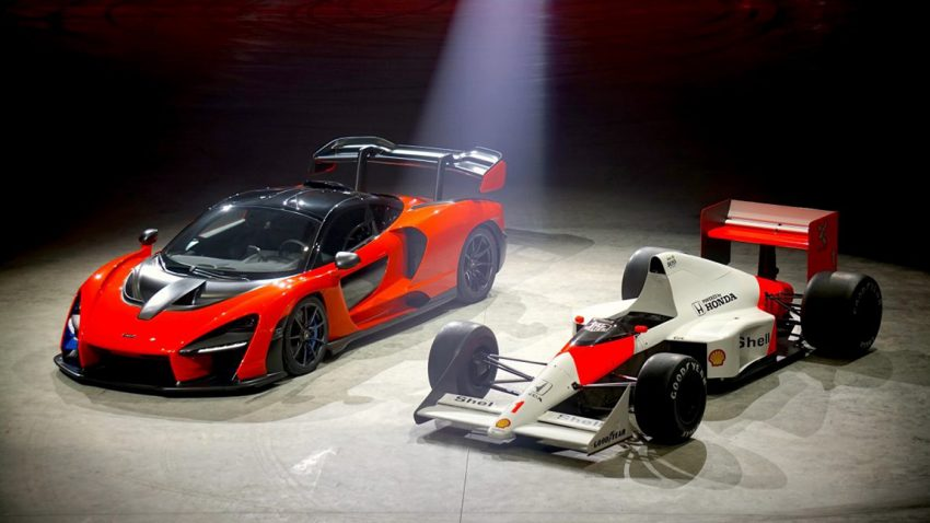Neues zum McLaren Senna