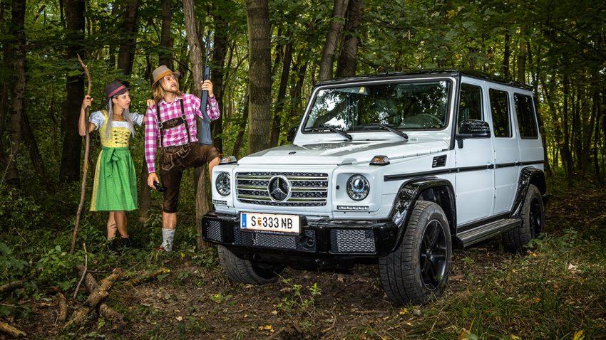 Mercedes G 350d: I beinz!