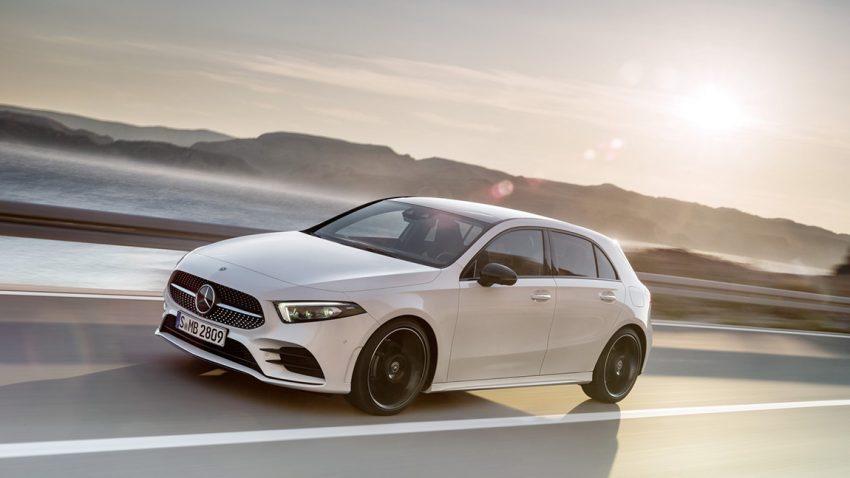 Neue Mercedes A-Klasse vierte Generation W177 2018