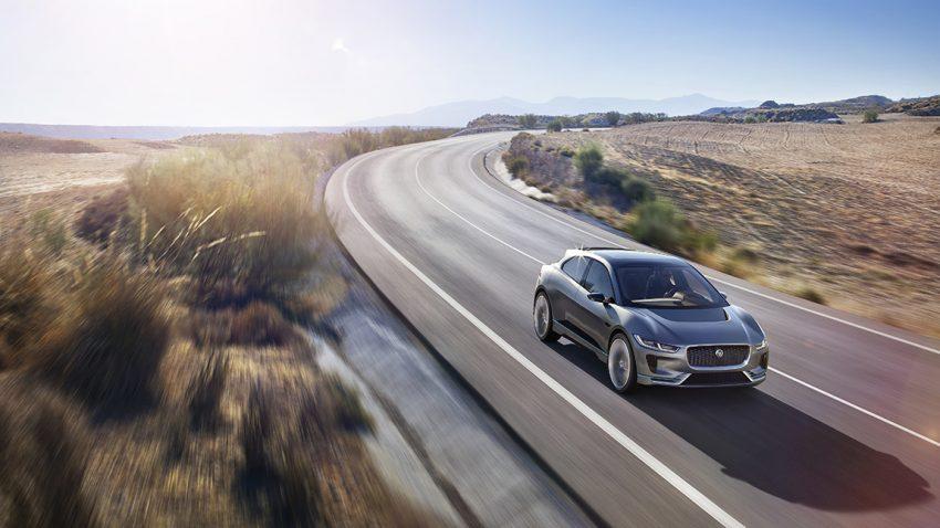 Jaguar I-Pace Elektro-SUV Elektroauto