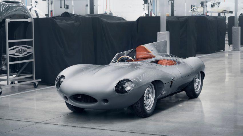 D-Type Revival: Jaguar lässt Sportwagen-Ikone wiederaufleben