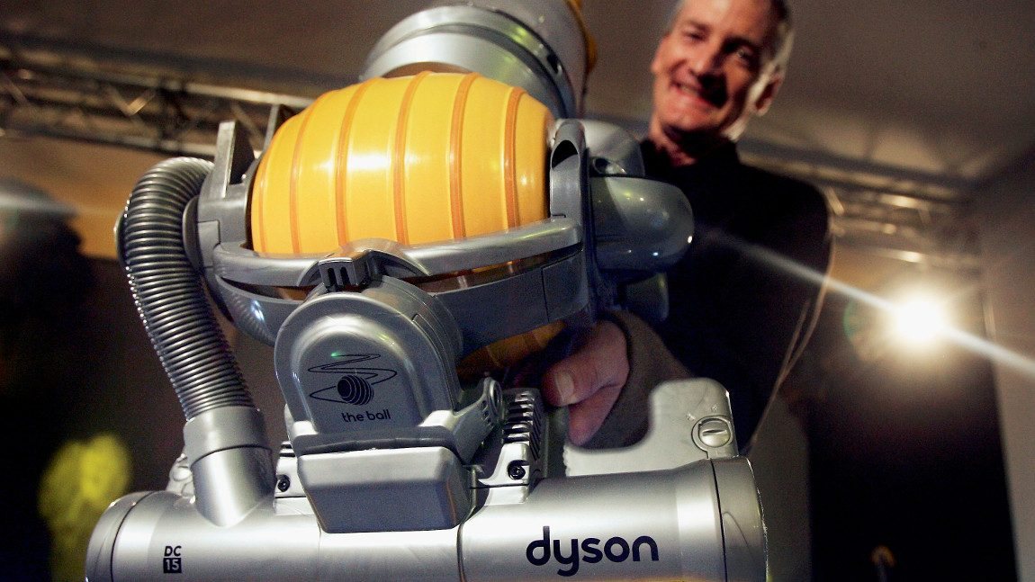 staubsauger hersteller dyson plant gleich drei elektroauto modelle. Black Bedroom Furniture Sets. Home Design Ideas