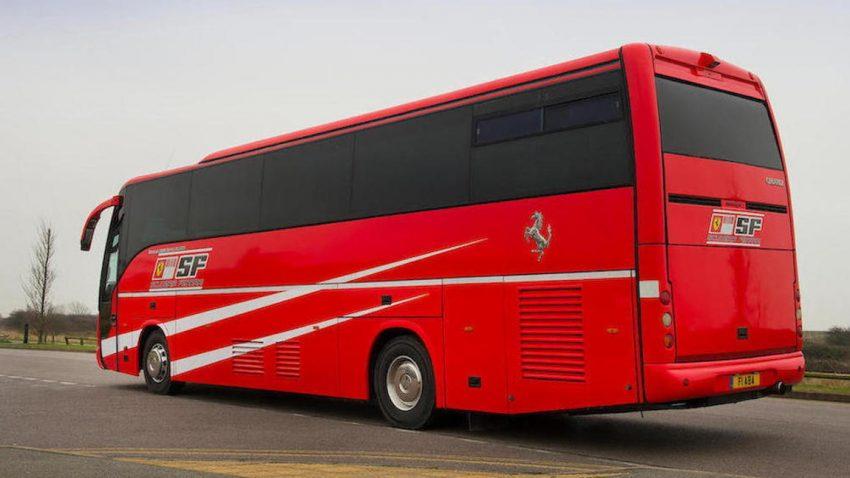 Scuderia Ferrari Wohnmobil: Hier weilte schon Michael Schumacher