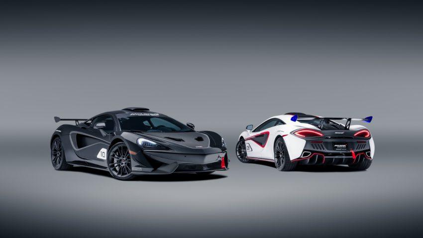 McLaren MSO X: Straßenauto im Rennstrecken-Look