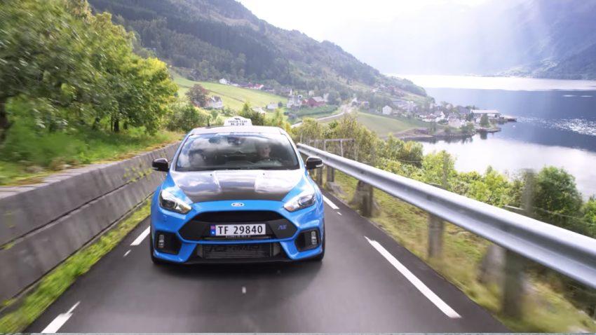 Wie ein Norweger und sein Ford Focus RS-Taxi ihre Fahrgäste in Verzückung versetzen
