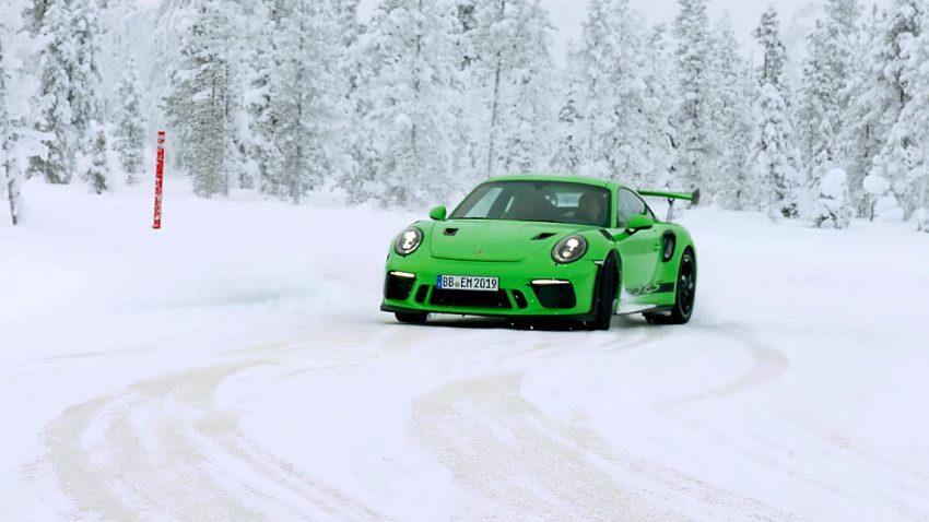 Porsche 911 GT3 RS: Schee im Schnee