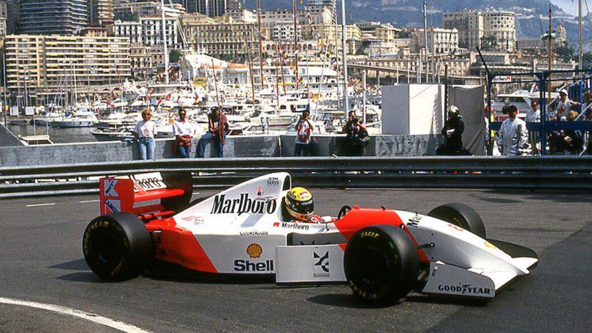 Ayrton Sennas McLaren-Ford aus der Formel 1-Saison 1993 wird versteigert