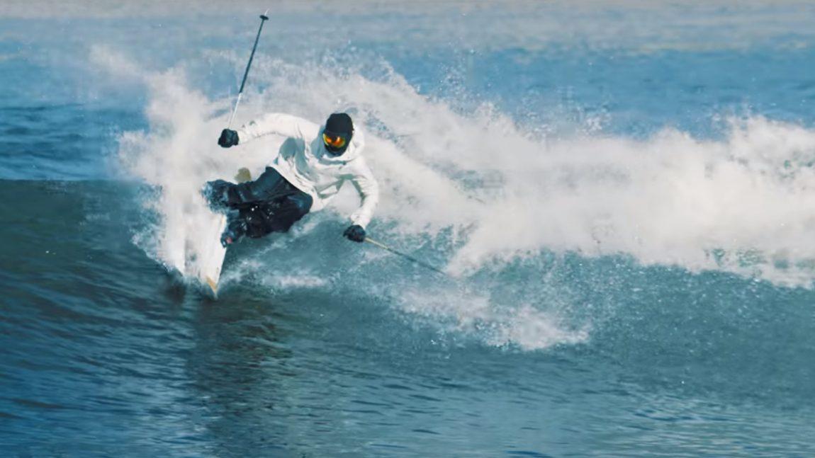 Warum Audi einen Freestyle-Skifahrer in die Wüste schickt
