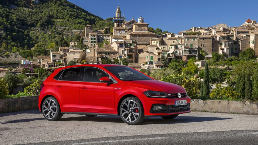 VW Polo Volkswagen COTY Auto des Jahres