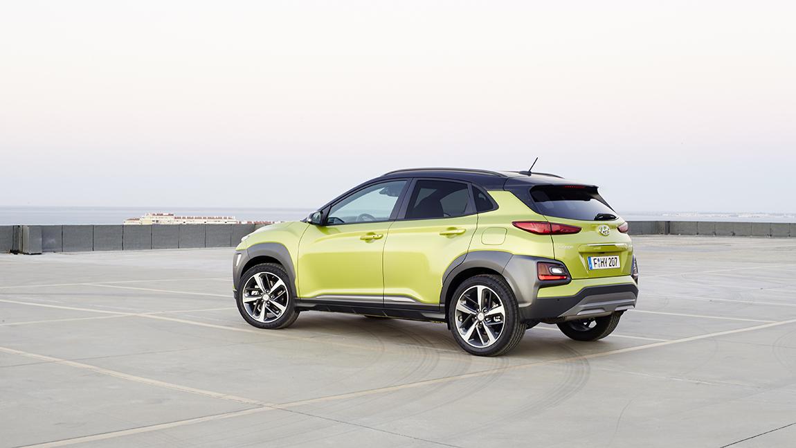Hyundai Kona SUV Crossover Auto des Jahres COTY