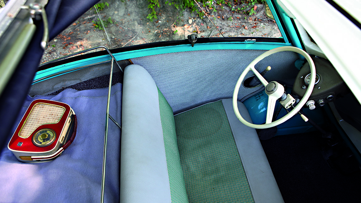 BMW Isetta Innenraum