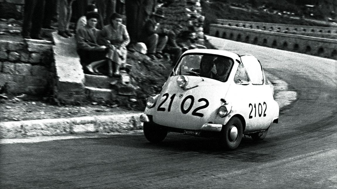 BMW Isetta Mille Miglia 1954
