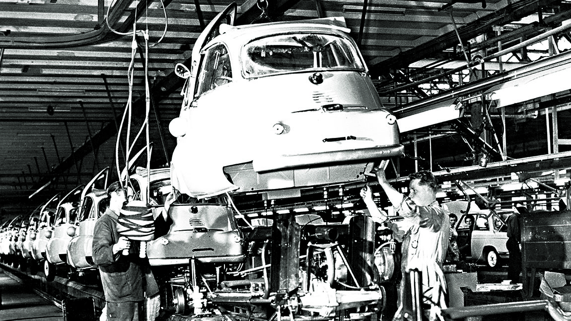 BMW Isetta Produktion