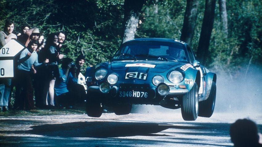Zeitleiste für Alpine Automobile: Kind der Berge