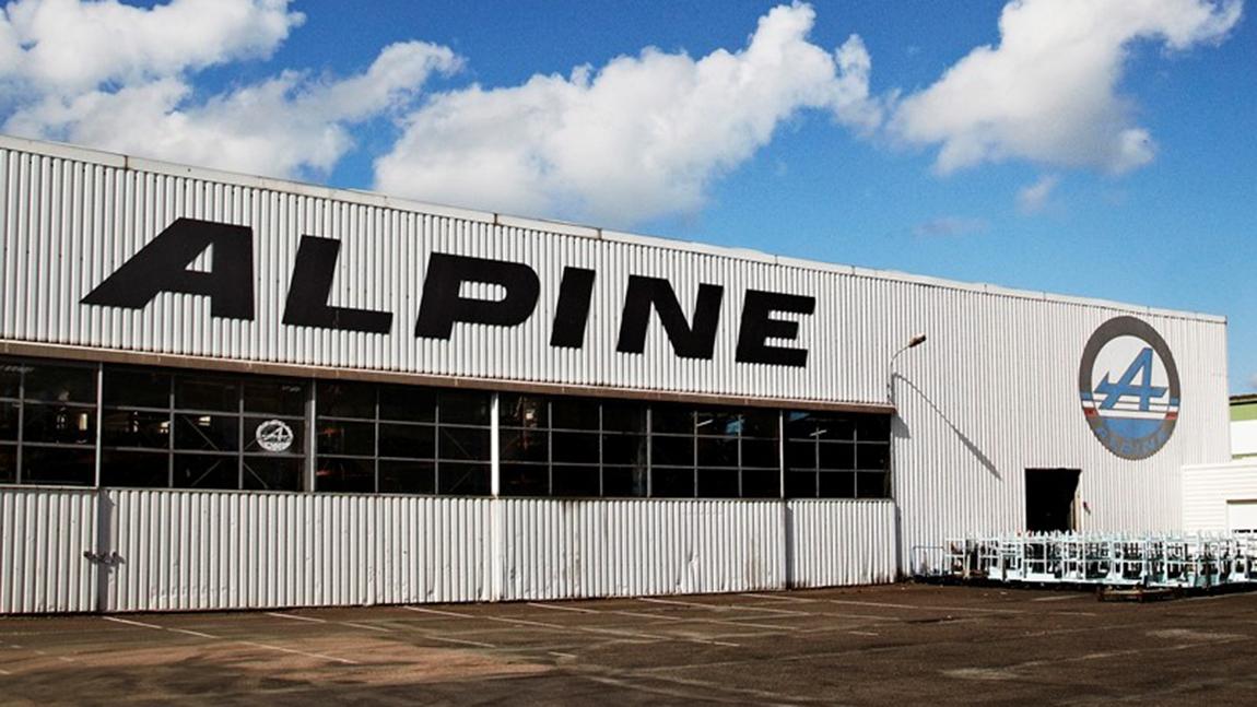 Alpine Werk Dieppe