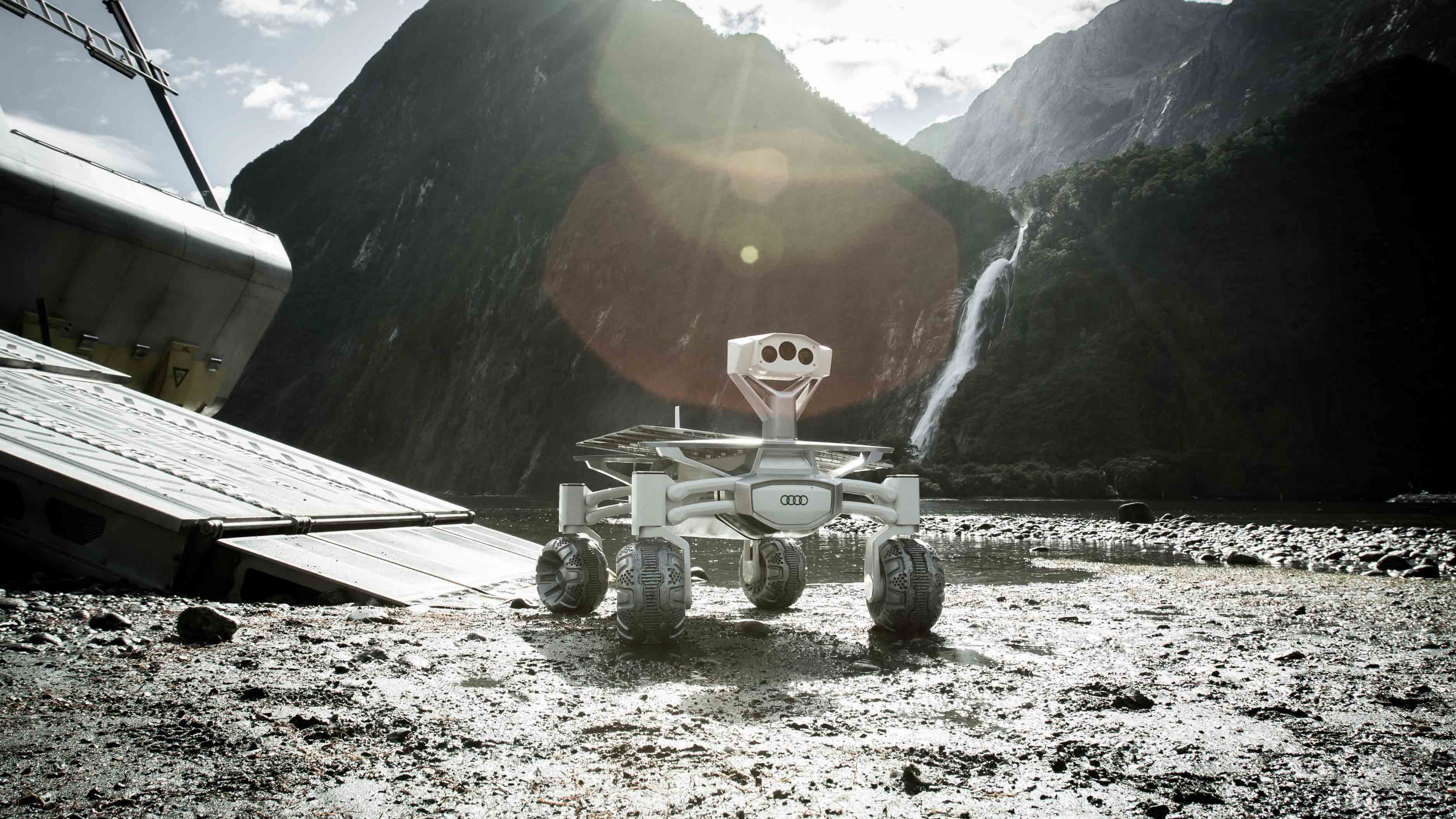 Lunar Roving Vehicle LVR mond Apollo Audi lunar quattro alien Covenant
