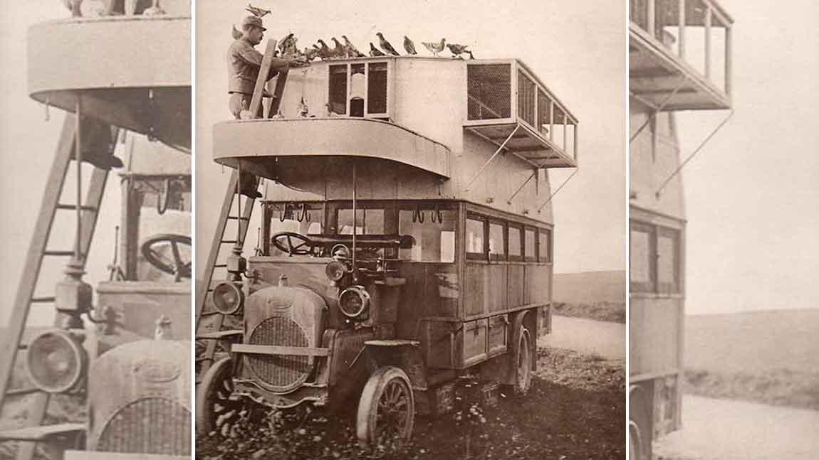 Brieftaubenbusse: Twitter, before it was cool