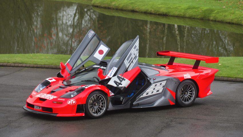 1 von 10: Dieser McLaren F1 GTR Longtail mit Straßenzulassung steht jetzt zum Verkauf