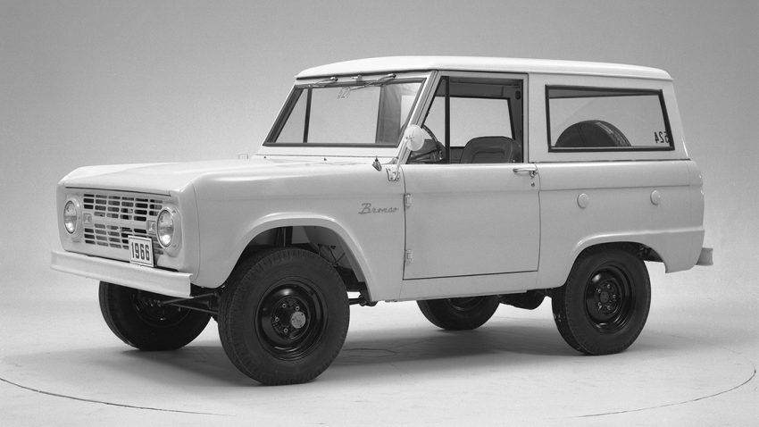 1966 Ford Bronco prototyp