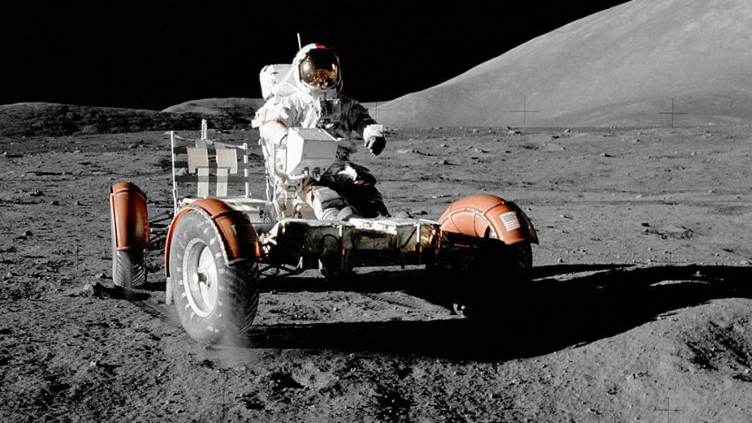 Lunar Roving Vehicle LVR mond Apollo