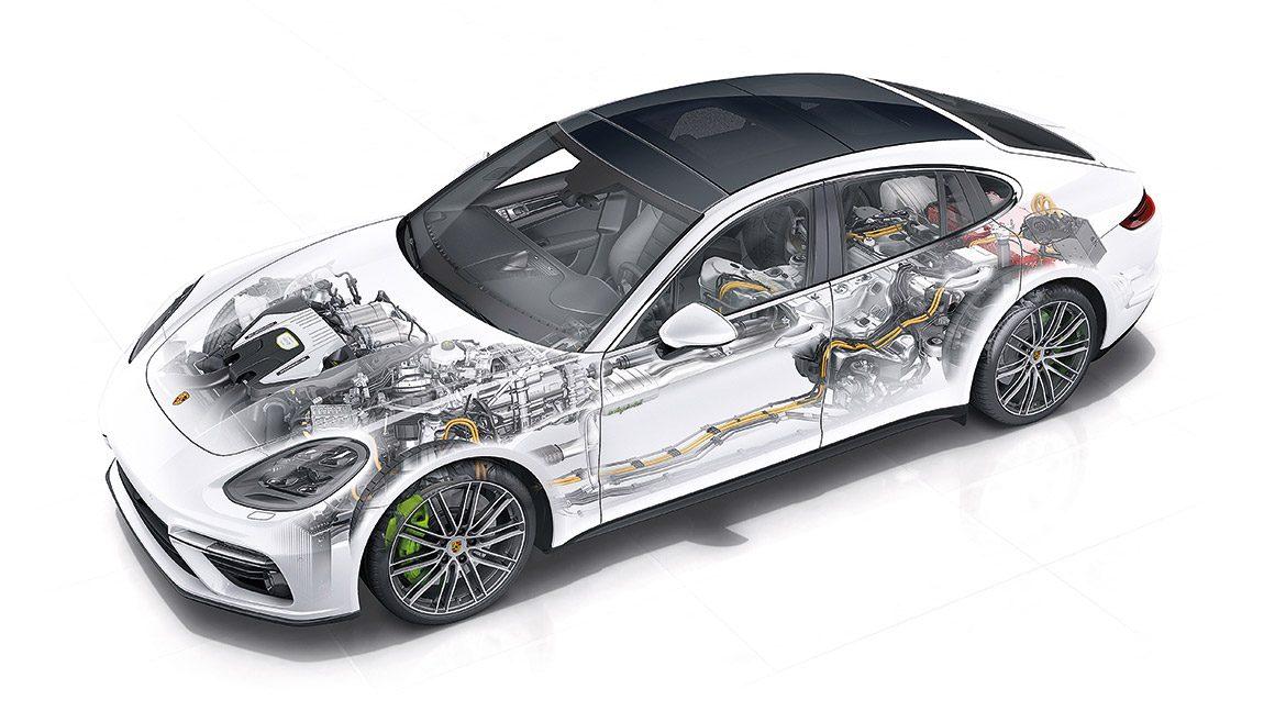 Porsche Panamera Turbo S E-Hybrid: Trumpfkarte im Autoquartett