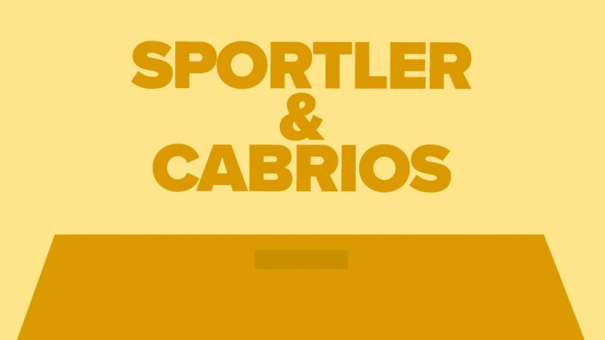 Sportwagen & Cabrios: Übersicht aller Testberichte, technischen Daten & Preise